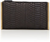 "Lanvin WOMEN'S ""PRIVATE"" PYTHON CLUTCH"