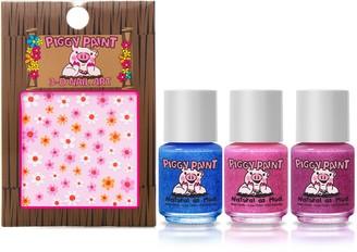 Piggy Paint Shimmer & Sparkle Set of 3 Nail Polish & Nail Art