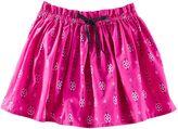 Osh Kosh Toddler Girl Geo Poplin Skirt