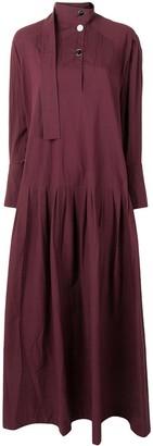 Palmer Harding Kapori tiered long-sleeved maxi dress