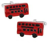 Hosaire Men's Cufflinks Bus Accessories Cuff Link Delicate Cuff-link for Wedding Party Red