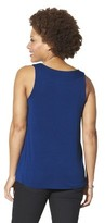 Merona Women's Knit/Woven Pleated Top - Assorted Colors