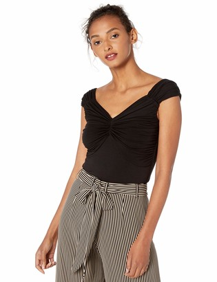 Bailey 44 Women's Tapioca Ruched Front Jersey Date Night Top