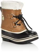 Sorel Boys' Yoot Pac Leather Cold Weather Boots