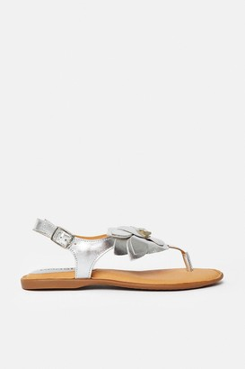 Coast Floral Toe Post Flat Sandal