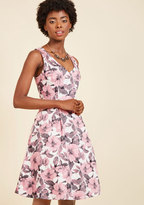 ModCloth Fabulously Established Floral Dress in Pink in XXS