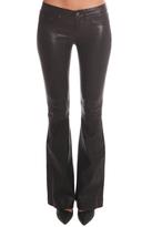 Rag & Bone Leather Bell Bottom Pant