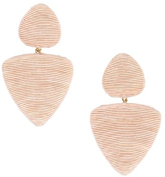Rebecca De Ravenel Tahiti 2-Drop Clip-On Earrings