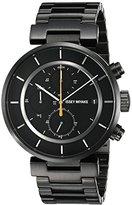Issey Miyake Men's SILAY002 W Black Stainless Steel Bracelet Watch