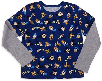 Disney Mickey Mouse and Friends Long Sleeve T-Shirt for Kids