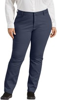 Dickies Plus Size Perfect Shape Bootcut Twill Pants