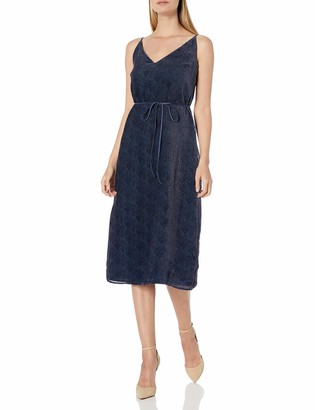 GUESS Women's Navy Lace Dress 14