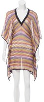 Missoni Patterned Knit Knee-Length Dress