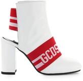 GCDS White Logo Bootie