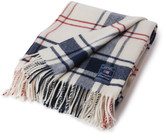 Lexington Holiday White Classic Check Throw - 130x170cm