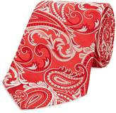 Turnbull & Asser Paisley Wide Tie