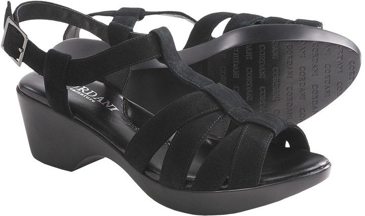 Cordani Garrison Suede T-Strap Sandals (For Women)