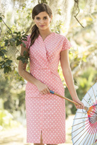 Shabby Apple Perfect Peach Straight Dress