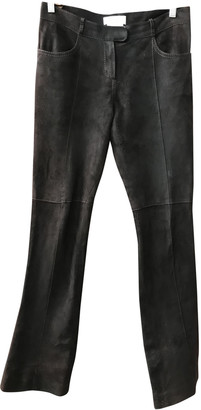 Givenchy Brown Suede Trousers