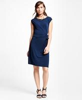 Brooks Brothers Jersey Knit Dress