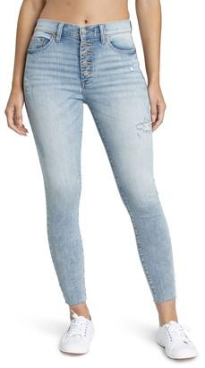 DAZE Call You Back High Waist Crop Jeans