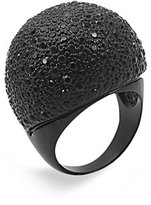Large Pavé Dome Ring