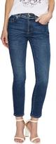 Alexander McQueen Women's Distressed Trim Skinny Jean