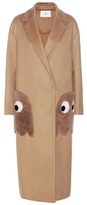 Anya Hindmarch Ghost Wool And Cashmere Blend Coat