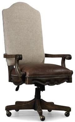 Hooker Furniture Rhapsody Genuine Leather Executive Chair