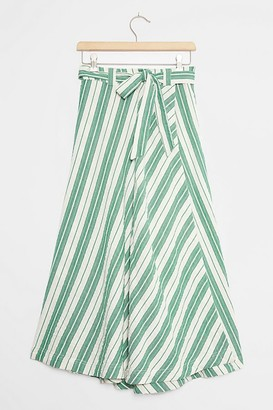 Maeve Franconia Striped Maxi Skirt