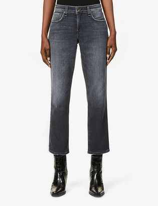 Rag & Bone Dre tapered-leg low-rise stretch-denim boyfriend jeans