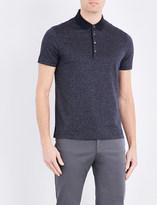 HUGO BOSS Regular-fit mercerised-cotton polo shirt