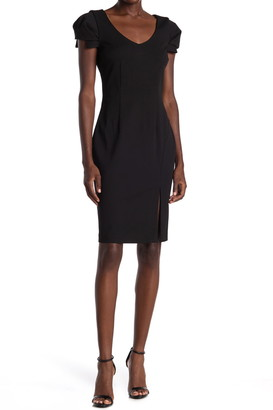 trina Trina Turk Tine V-Neck Sheath Dress