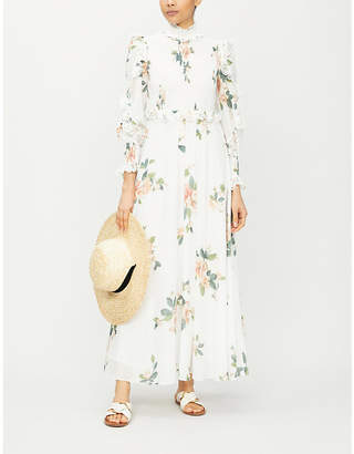 Zimmermann Kirra floral-print cotton-voile midi dress