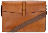 John Lewis Made In Italy Leather Messenger Bag