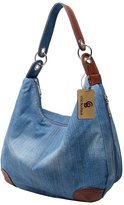 Ichic Boutique Womens Handbag Purse Tote Hobo Shoulder Crossbody Bags Denim
