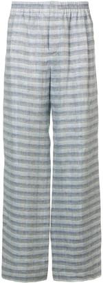 Stephan Schneider Wide Leg Striped Trousers