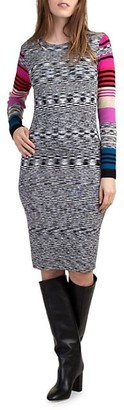 Trina Turk Dialogue Bodycon Dress