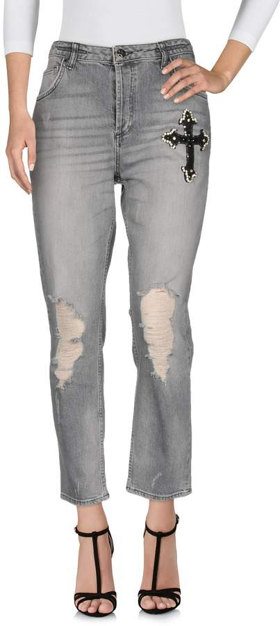 Silvian Heach Denim pants - Item 42670633XM
