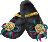 Disguise Frozen Black Anna Slippers