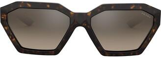 Prada Disguise geometric sunglasses