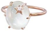 Andrea Fohrman Pearl Mini Diamond Star Ring