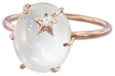 Andrea Fohrman Pearl Mini Diamond Star Ring
