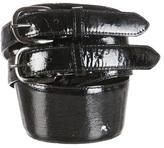 Oscar de la Renta Patent Leather Waist Belt
