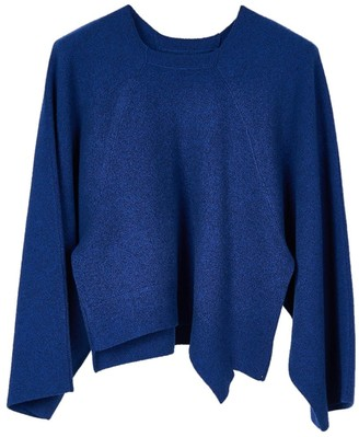 Oyuna Cloe Knitted Wool Blend Pullover In Star Blue Mix