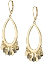 Sam Edelman Shaky Oval Hoop Earrings