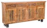 "Luella 80"" Wide 4 Drawer Sideboard Rosalind Wheeler"