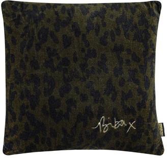 Biba Cheetah Kiss Cushion