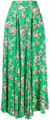 Zadig & Voltaire Joyo floral-print skirt