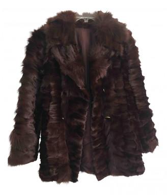 Non Signã© / Unsigned Burgundy Fox Coats